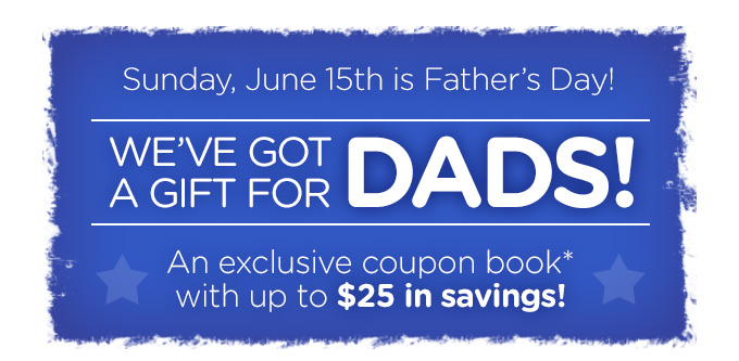 We've got a gift for Dad!